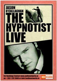 Comedy Hypnotist Wedding Poster